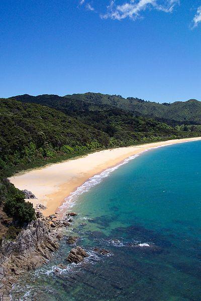 beach newzealand live in newzealand emigrate new zealand