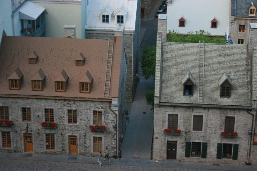 quebec city, new france, place royale