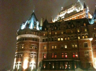 Chateau Frontenac, Quebec City, travel blog, expat blog