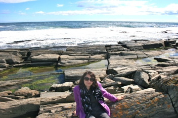 travel writer, Maine travel