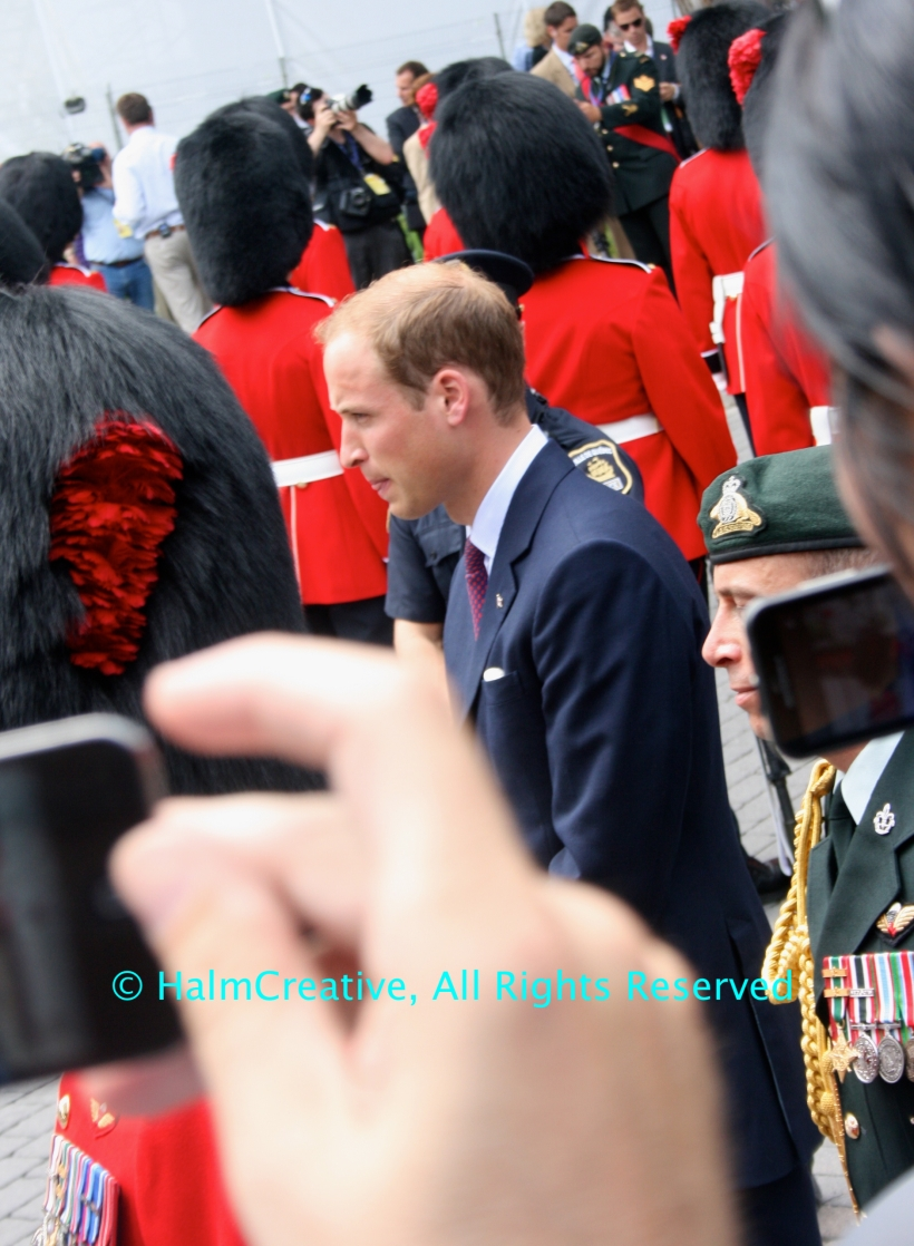 Prince William at 2011 Royal Tour