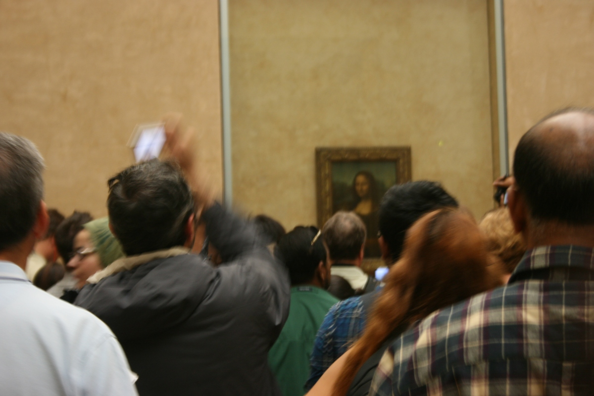 Mona Lisa in Paris
