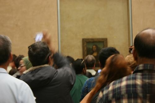 Mona Lisa in Paris