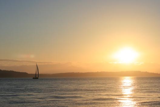 Seattle travel, Seattle sunset